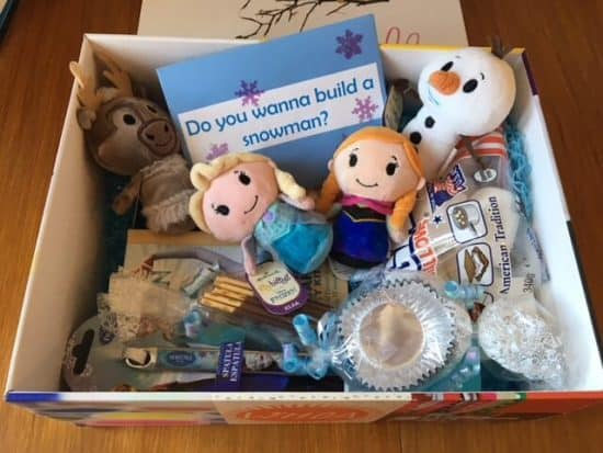Frozen Itty Bittys goody box