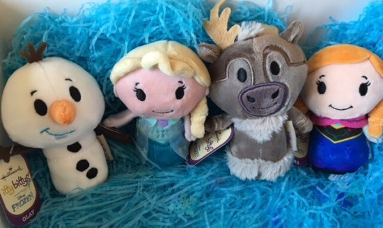 Frozen Itty Bittys from Hallmark