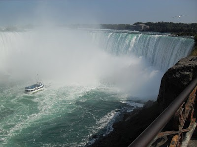 Lady of the Mist - Niagara Falls