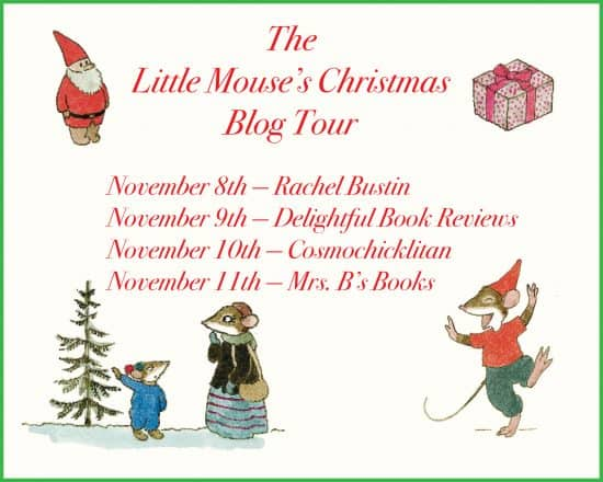 Little Mouse's Christmas blog tour banner