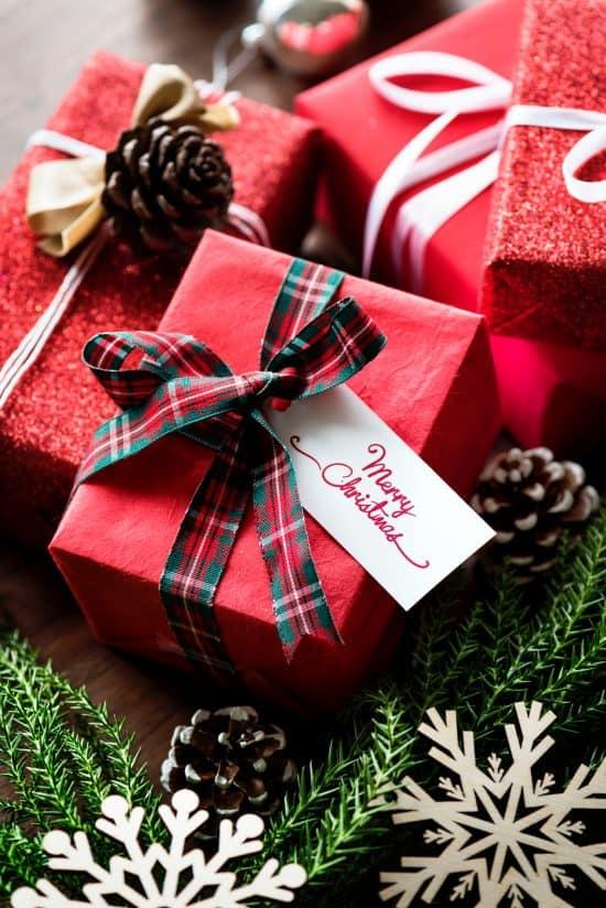 Posting Christmas Presents