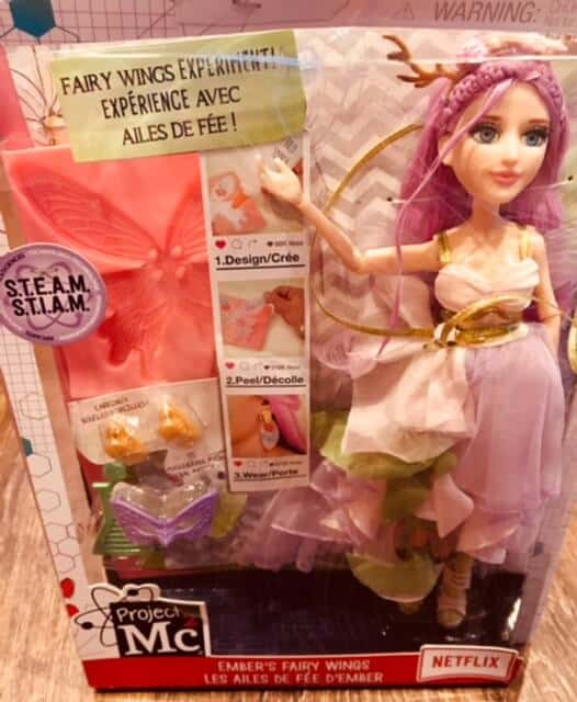 Project Mc2 Ember Evergreen experiment doll