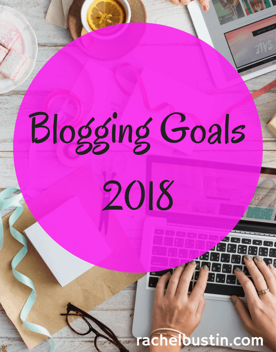 Blogging Goals 2018