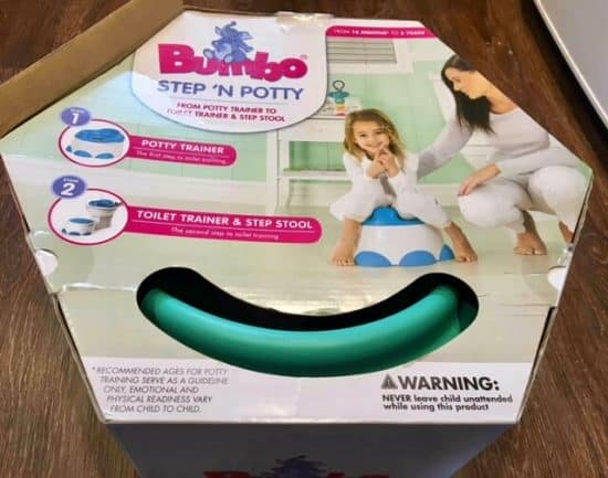 Bumbo Step 'n' Potty