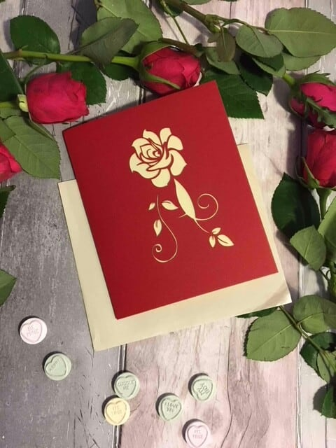 Unique Valentine's Day Card