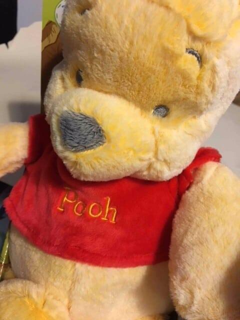 Winnie the Pooh -Posh Paws snuggle friends