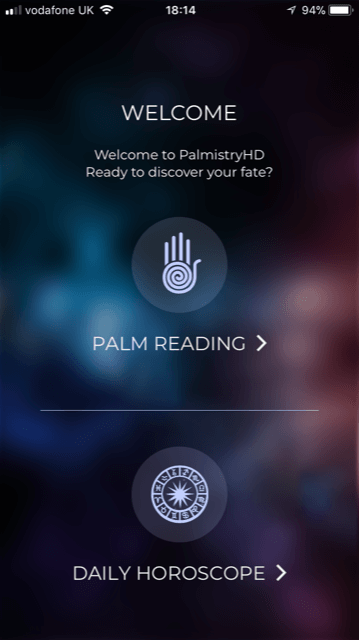 PalmistryHD app