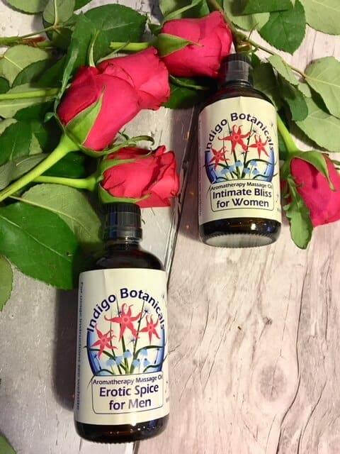 Indigo Herbs Massage oils