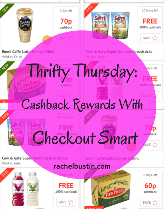 Thrifty Thursday: Cashback Rewards with Checkout Smart
