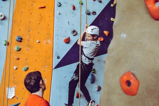 Unique Hobbies for kids - rock climbing