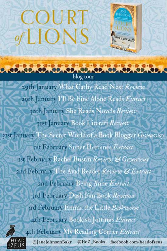 Court of Lions Blog Tour Poster