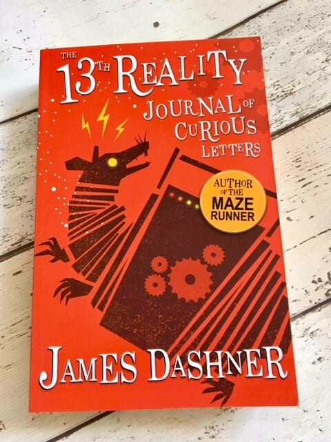 Blog Tour: The 13th Reality Journal of Curious Letters by James Dashner
