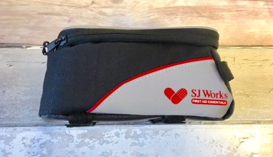 SJ WORKS smartphone solution bicycle first aid kit