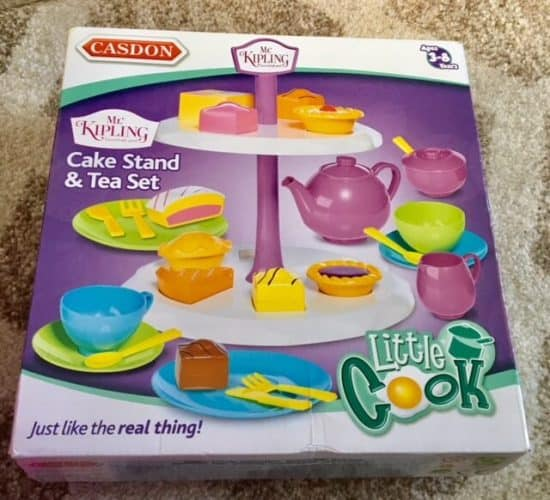 Mr Kipling Tea Set from Casdon