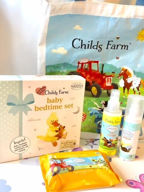 Childs Farm Baby Bathtime set