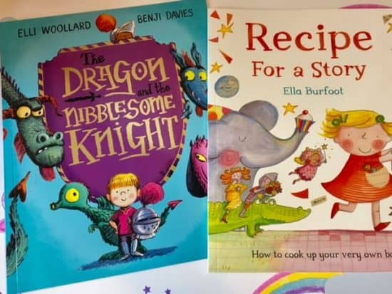 picture books - Dragon and the troublesome knight, Recipe for a story