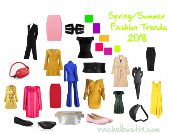 Spring Summer Women's Fashion Trends 2018
