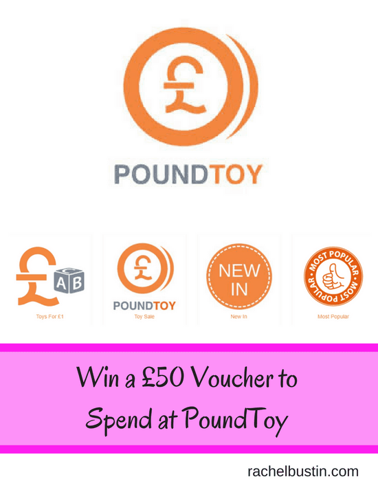 Win a £50 voucher to spend at PoundToy