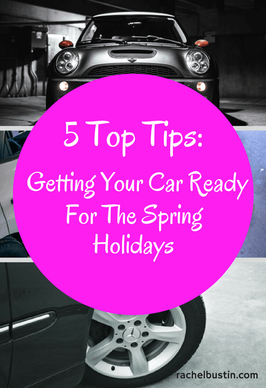 5 Top Tips for Getting Your Car Ready for the Spring Holidays - Wash away the road salt and grit, check tyres, wiper blades and lights, car fluid levels