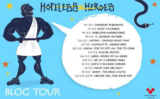 Hopeless Heroes Blog Tour