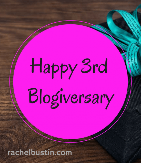 Happy 3rd Blogiversary