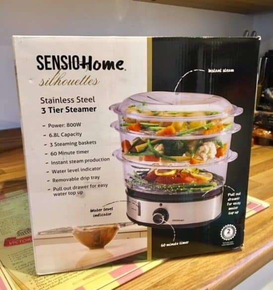 Product Review: Sensio Steamer