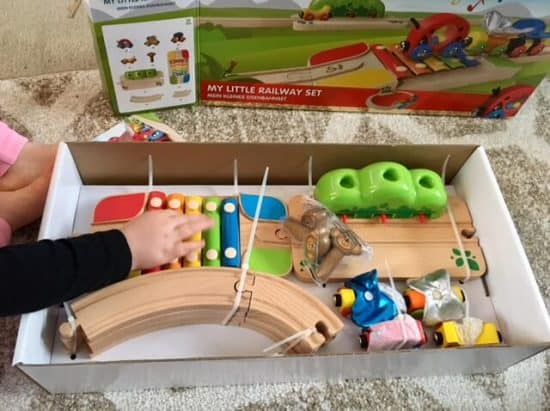 Wicked Uncle Wooden Train Set Review