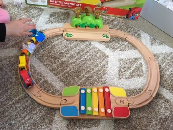 Wooden train set review