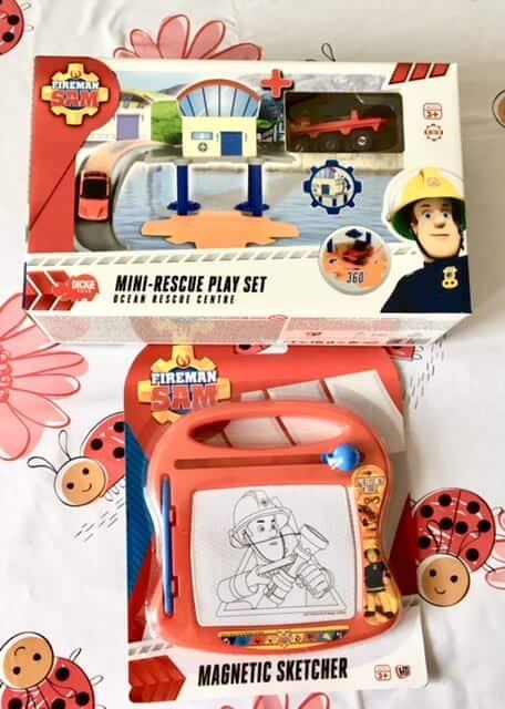 Shopping haul from PoundToy - Fireman Sam toys