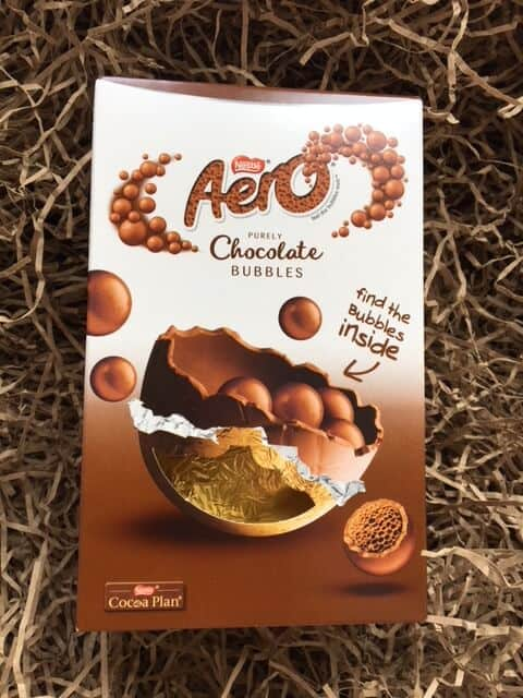 Small Aero chocolate Easter Egg