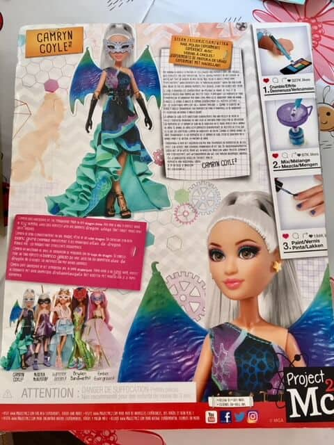 British Science week with project Mc2 Dolls