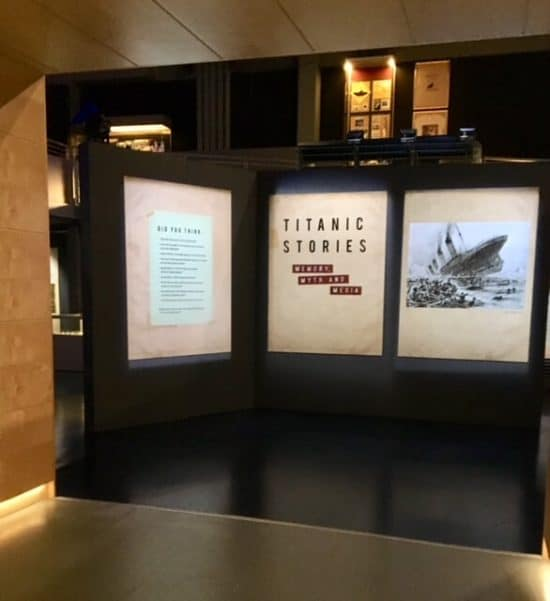 The Titanic Stories at the National Maritime Museum Cornwall