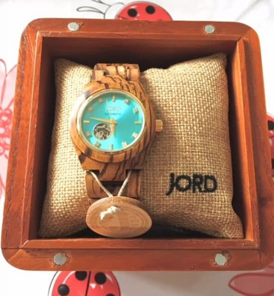 Happy 3rd Blogiversary -Giveaway Day 4 - JORD wooden watch