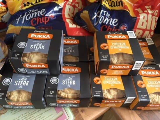 Midweek meals with Pukka Pies