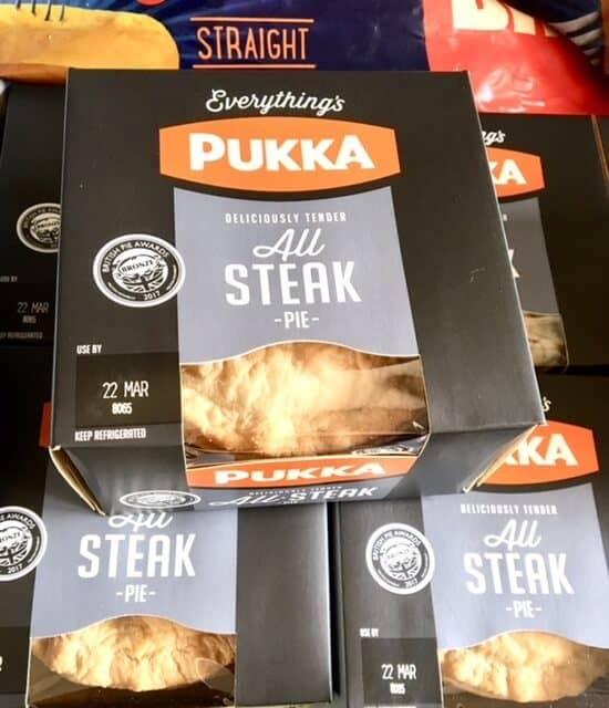 All Steak Pukka Pie