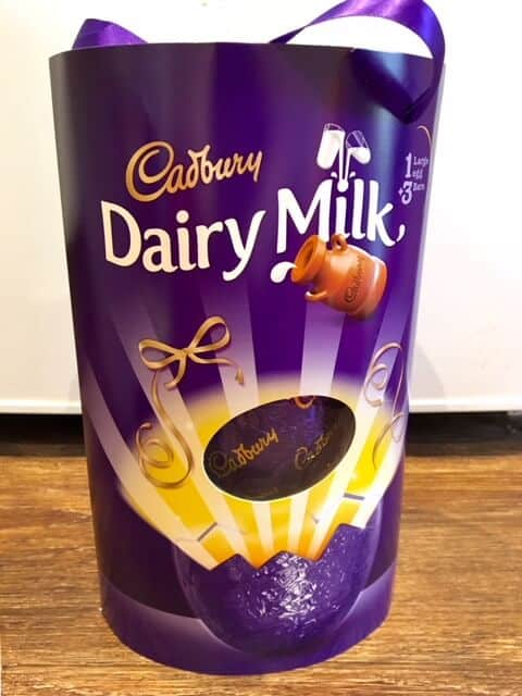 Large Dairy Milk Easter Egg