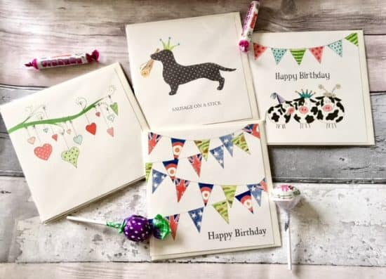 Tutti Frutti Designs Greeting Cards
