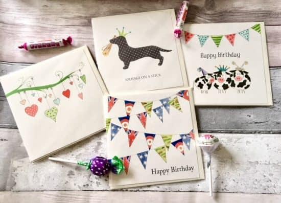 Tutti Frutti Designs Greeting Cards