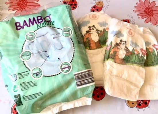 Bambo Nature Nappies Size 6