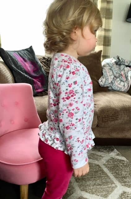 Testing out the Bambo Nature Nappies
