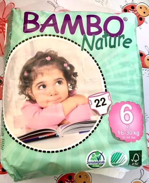 Bambo Nature Nappies Size 6