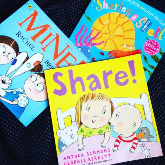 Our Four Favourite Books on Sharing (for Siblings Who Don't Share)