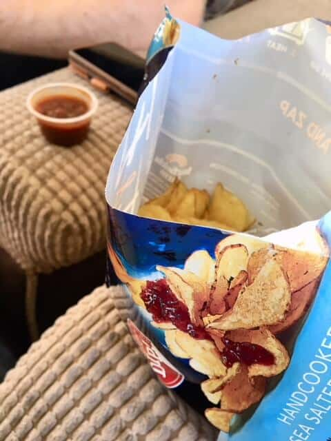 Heat & Eat crisps