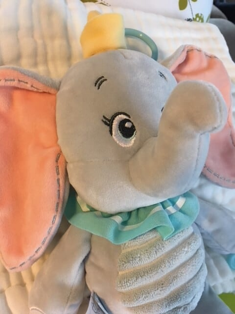 Disney Baby Dumbo Activity Plush