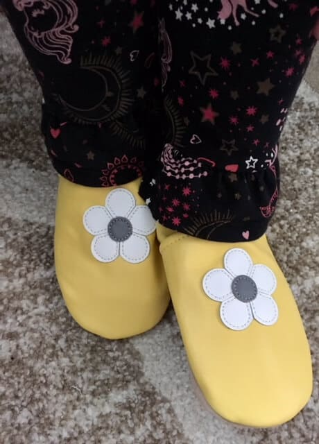Dotty Fish soft soled leather shoes