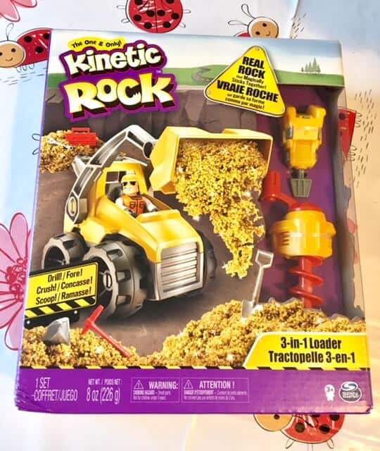 Toy Review: Kinetic Rock 3 In 1 Loader