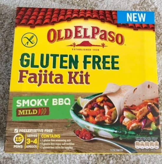 Old El Paso Gluten Free Fajita Kit Review and Giveaway