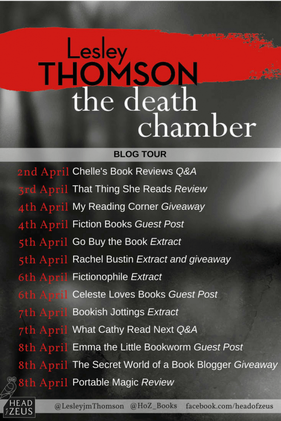 The Death Chamber Blog Tour