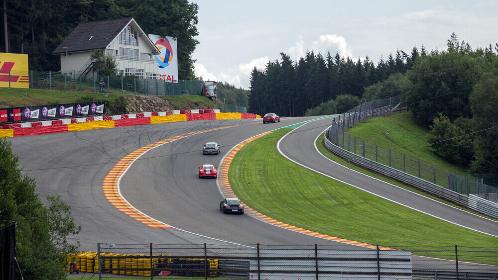 The Circuit de Spa-Francorchamps lies along the E42 highway about 110km southeast of Brussels, between the towns of Spa and Stavelot