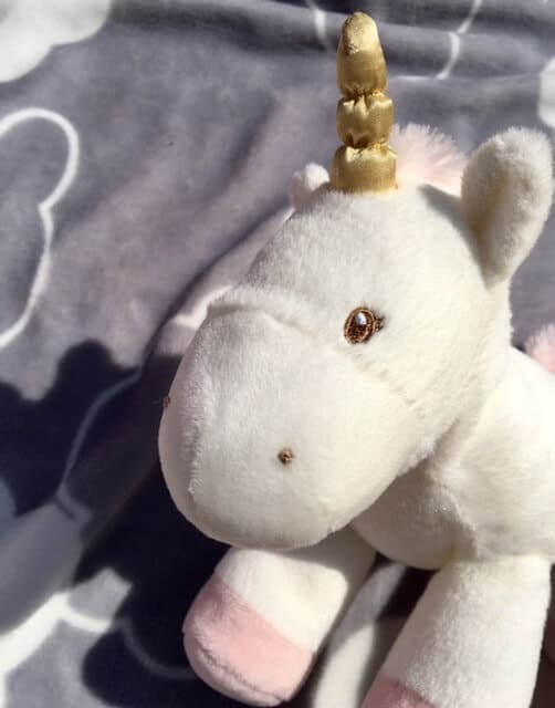 unicorn - plush toy from GUND